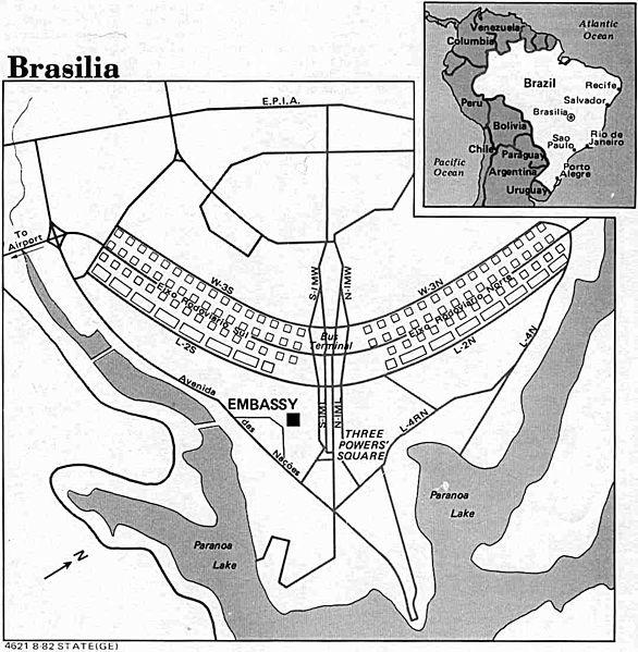 The condor or Cross of Brasilia