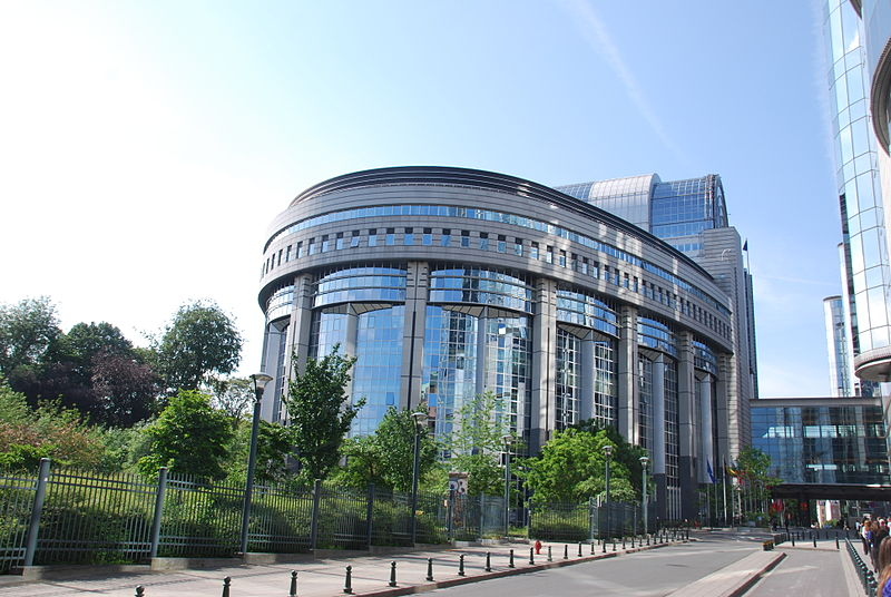 The capital of the European Union in Brussels