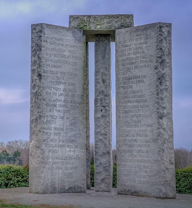 "A concept for an age of ""reason"": the Georgia Guidestones in Virgo"