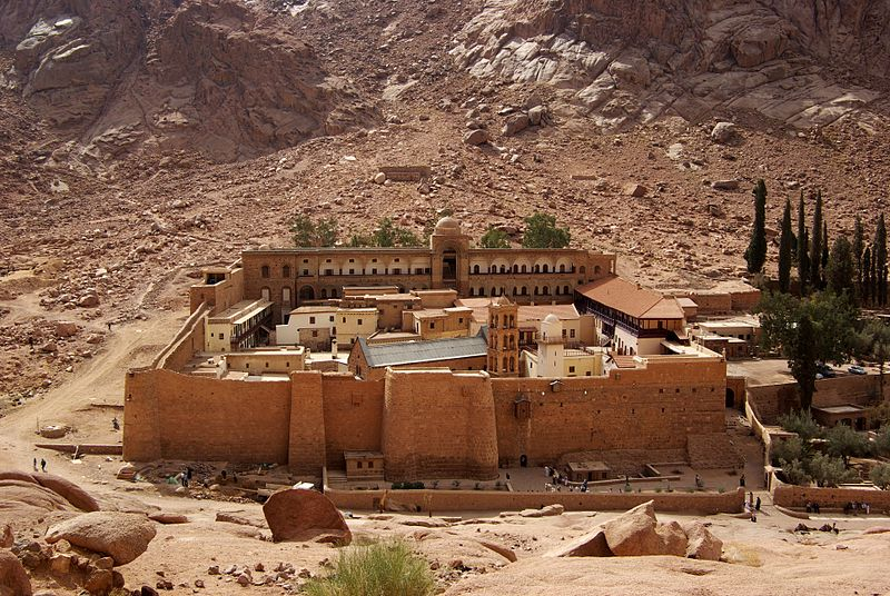 St. Catherine Monastery at the Mount of Moses