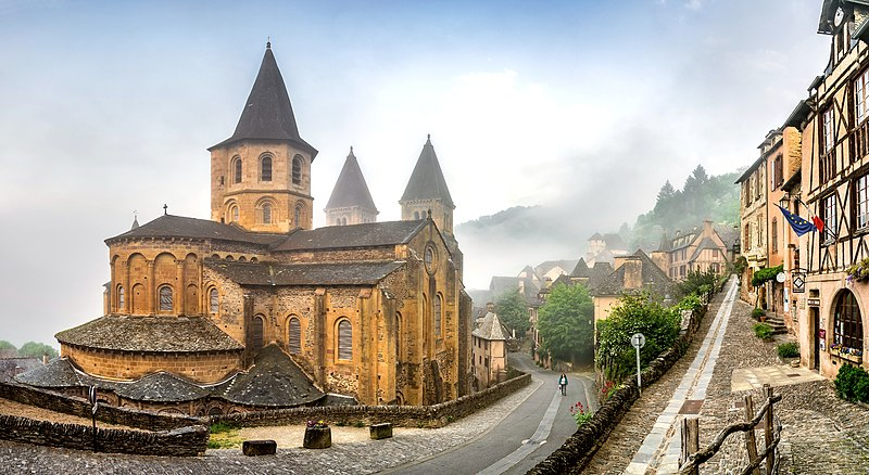 The church of Saint Faith in Conques