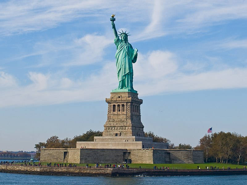Statue of Liberty in astrology and astrogeography