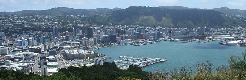 The astrogeographical position of Wellington