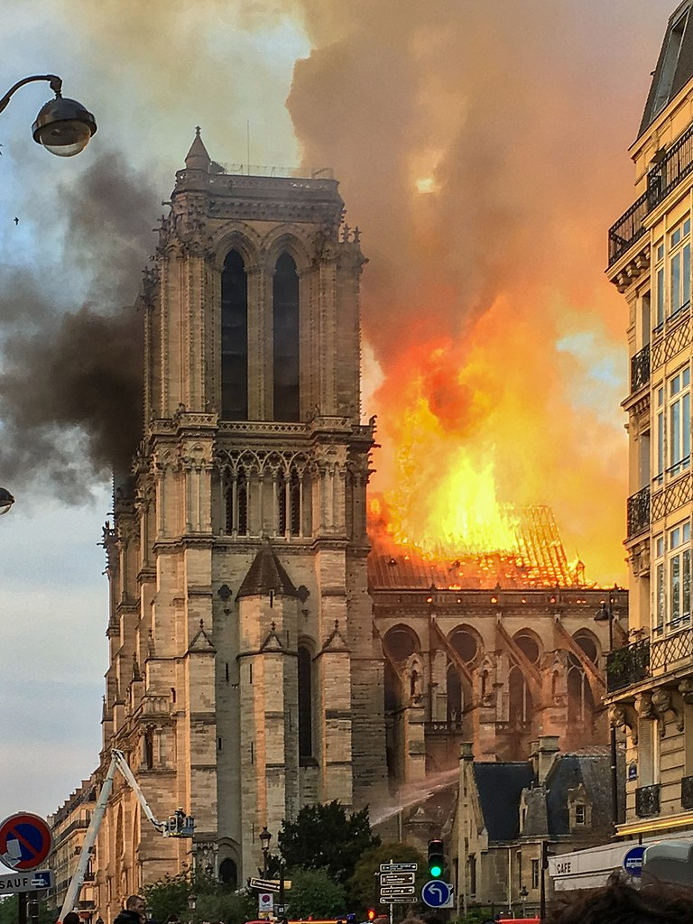 Der Grossbrand von Notre-Dame de Paris am 15. April 2019