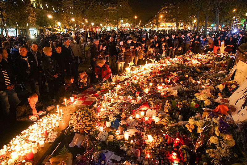 The Paris Terrorist Attacks on 13 November 2015 in astrogeography