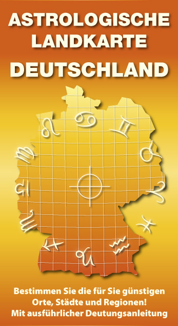 Astrologische Landkarte von Deutschland