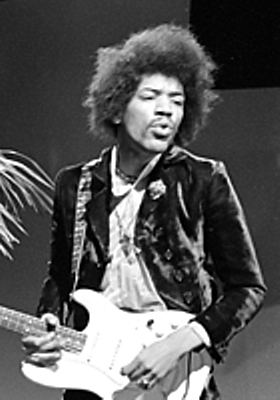Jimi Hendrix` stay in Ringo`s apartment at 34, Montagu Square, London