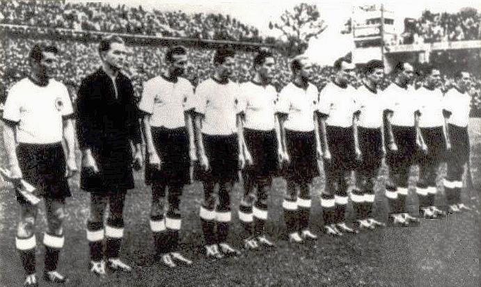 Astrologie und Astrogeographie Fußball WM 1954