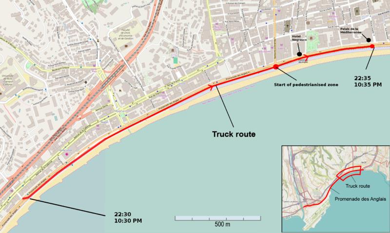 Astrologie & Orte: Der Terroranschlag am französischen Nationalfeiertag in Nizza