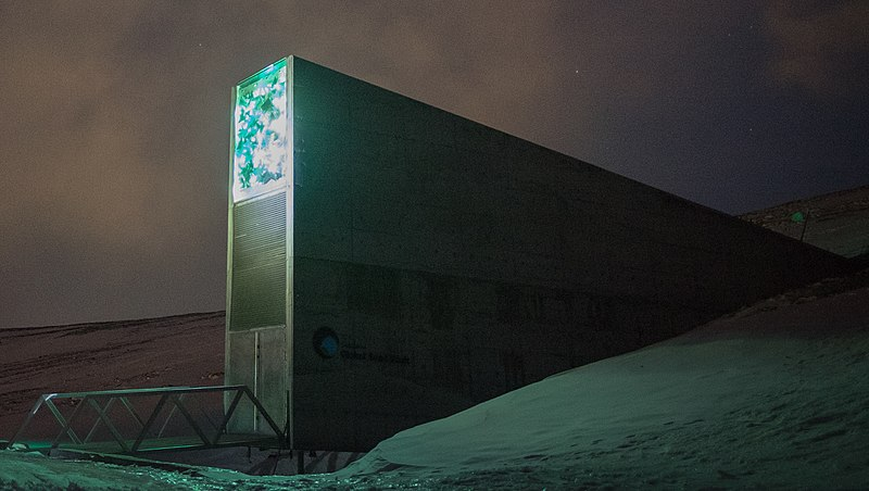 Svalbard Global Seed Vault in Astrogeography