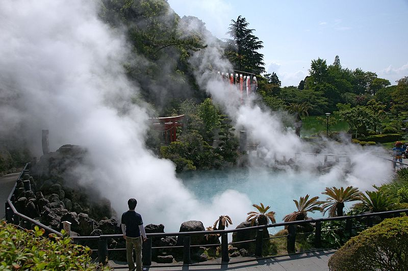Astrology and astrogeography of Beppu hot springs and  Yellowstone National Park