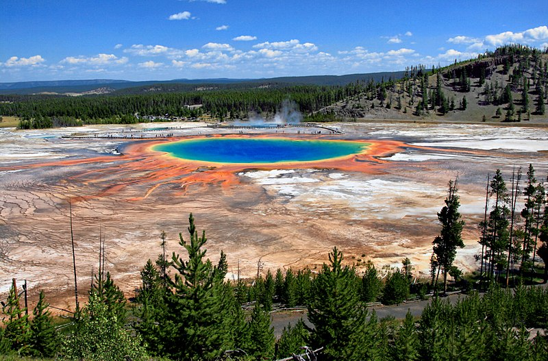 Astrologyand astrogeography  of geysers and Yellowstone National Park