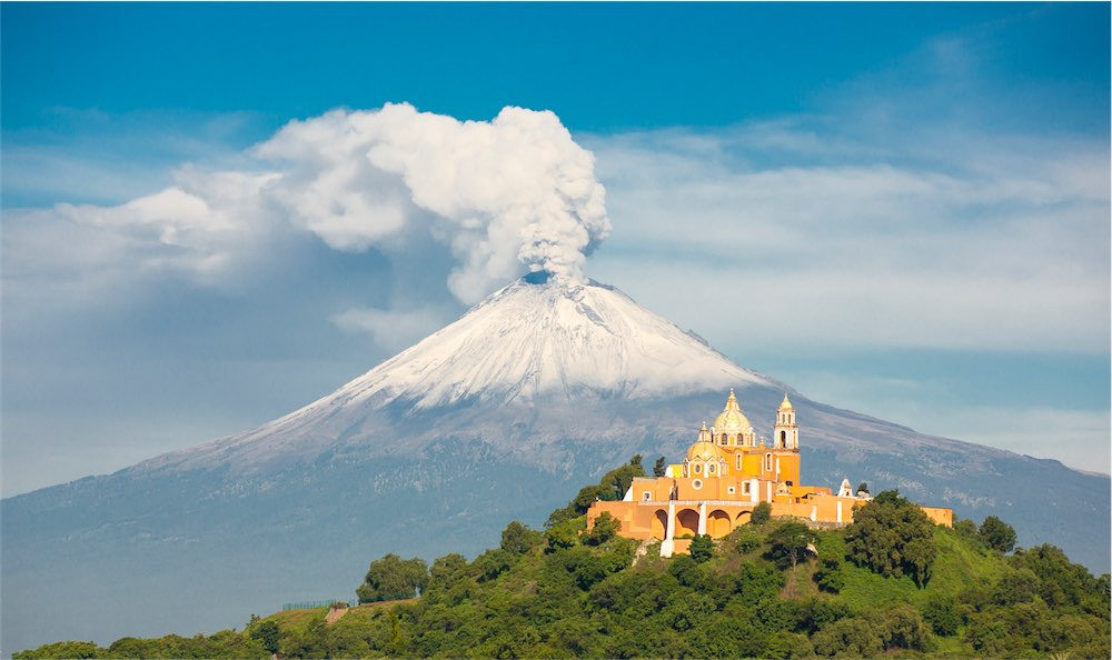 The Great Pyramid of Cholula in astrology
