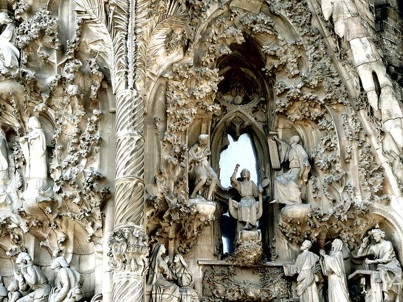 Gaudi`s Sagrada Familia in astrogeography