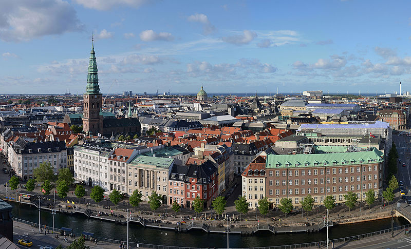 The astrology and astrogeography of Copenhagen and the birth chart for Denmark
