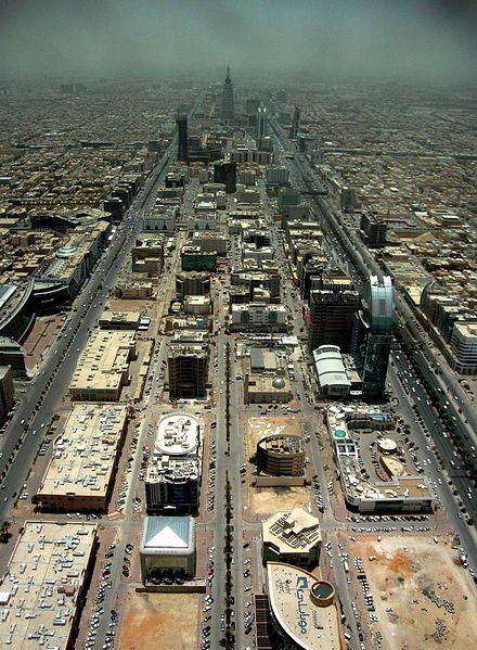 The astrogeographical position of Riyadh