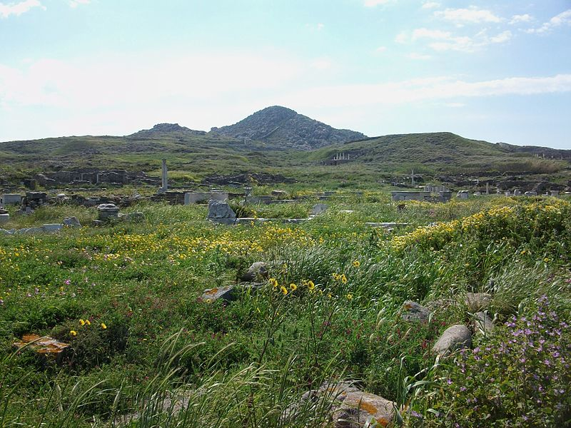 Astrology and astrogeography of Delos and Greek gods
