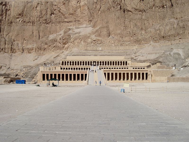 Astrology and architecture: theastrogeographical position of The Mortuary Temple of Hatshepsut in Libra