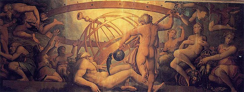 astrology and astrogeography of Chronos
