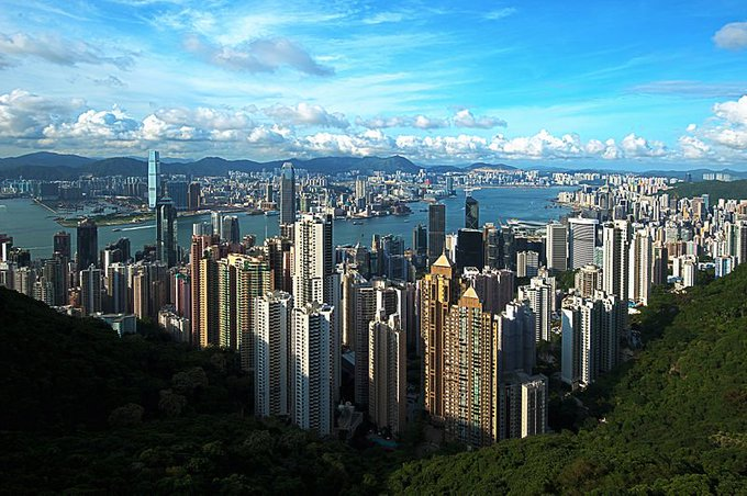 Astrology and astrogeography of Hongkong