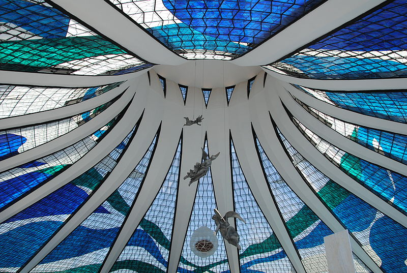 Astrologie und Astrogeographie der Architektur der Kathedrale von Brasilia