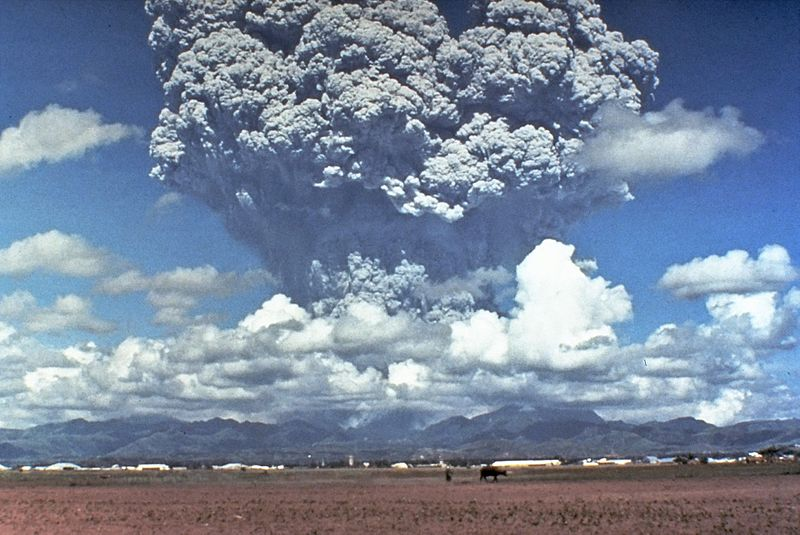 Astrologie und Astrogeographie von Vilkanen: der Pinatubo Ausbruch 1991