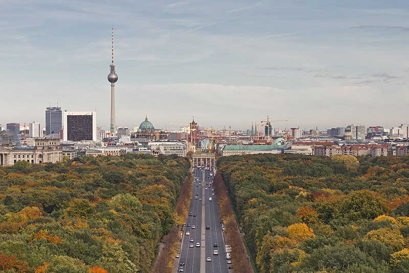 Die Astrogeographischen Resonanzkoordinaten für Berlin