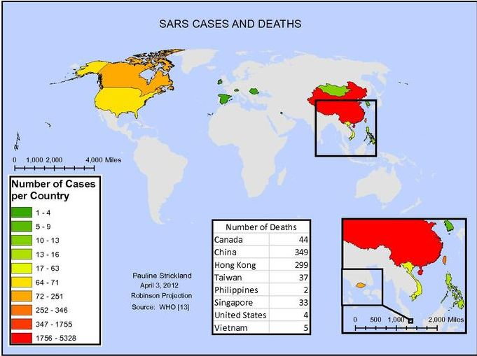 2002 SARS Coronavirus outbreak in astrology