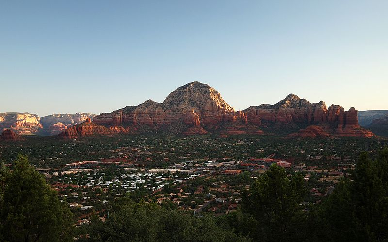 Astrology and astrogeography of Sedona