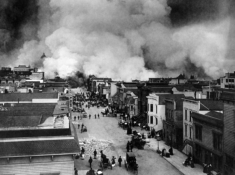Astrology and astrogeography of the 1906 San Francisco Earthquake
