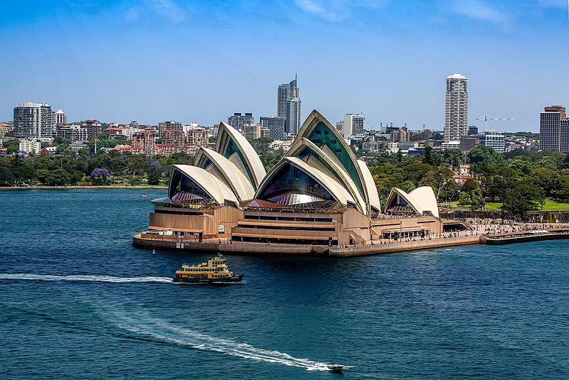 Sydney Opera House in astrology and astrogeography