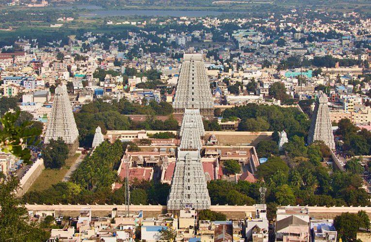 Ramana Maharishi und der Tiruvanamalai Tempel
