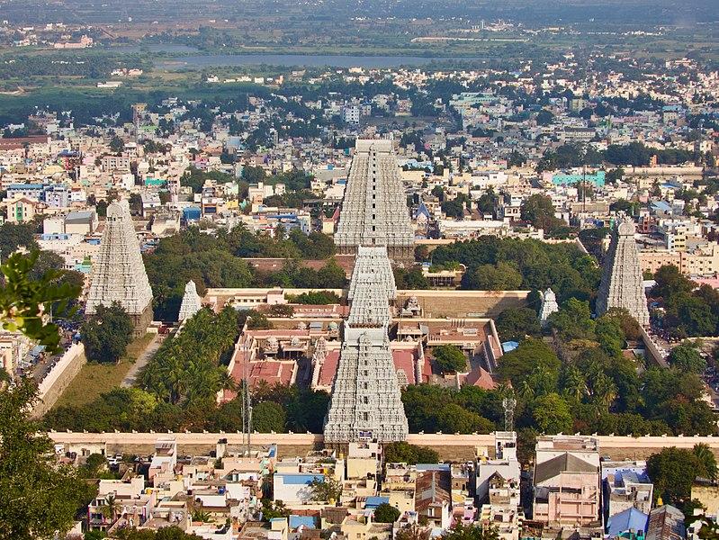 Ramana Maharishi und die Astrologie des Arunachela Tempel in Tiruvanamalai