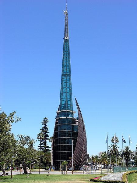 Astrologie und Architektur: der Swan Bells Tower in Perth