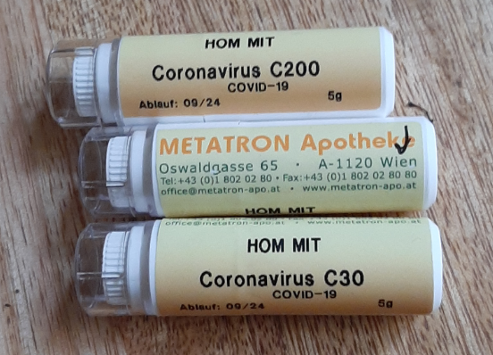 Testing a Covid 19 nosode in astrological homeopathy