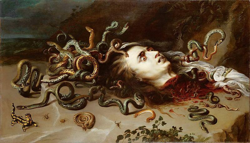 Astrologie von Medusa, Perseus und Justitia