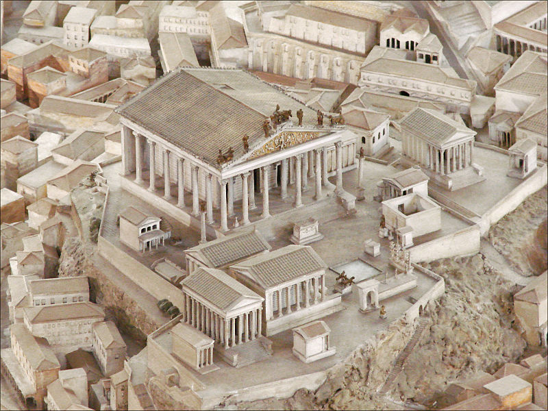 Capitoline Temple in astrology and astrogeography