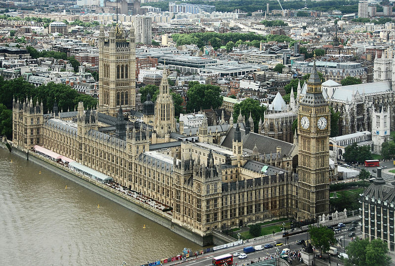 Palace of Westminster Uk parliament in astrology