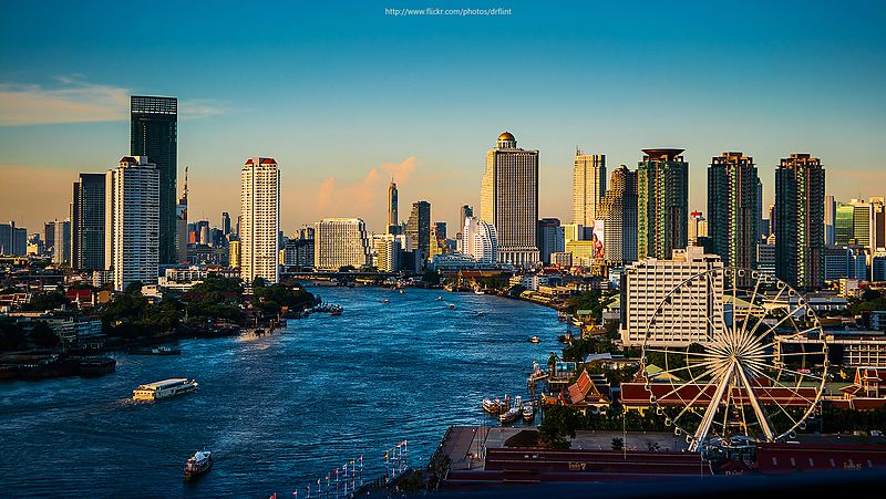 Bangkok in astrology and astrogeography