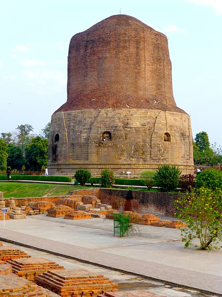 Astrology of Buddhist Spiritual Architecture at Sarnath