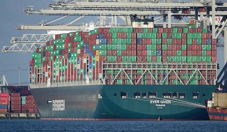Die Blockierung des Suezkanals im März 2021