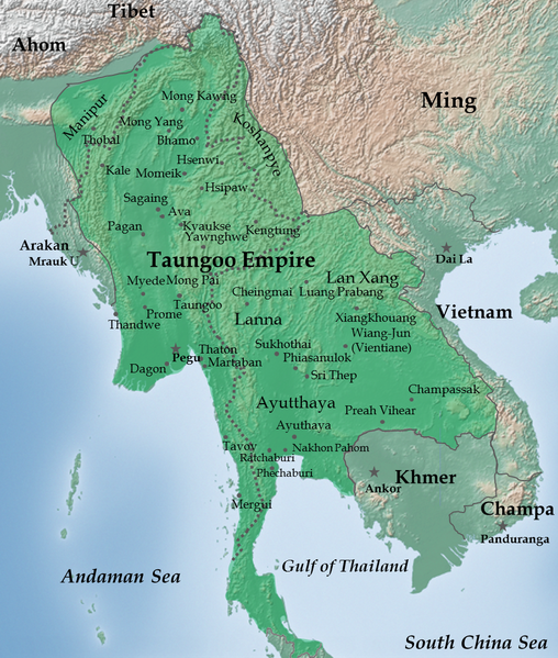 History of Burma in astrology and astrogeography