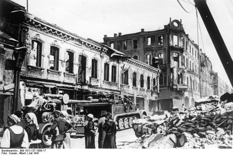 Battle of Minsk in 1941
