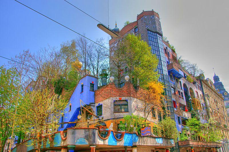 Hundertwasser House Vienna in astrology