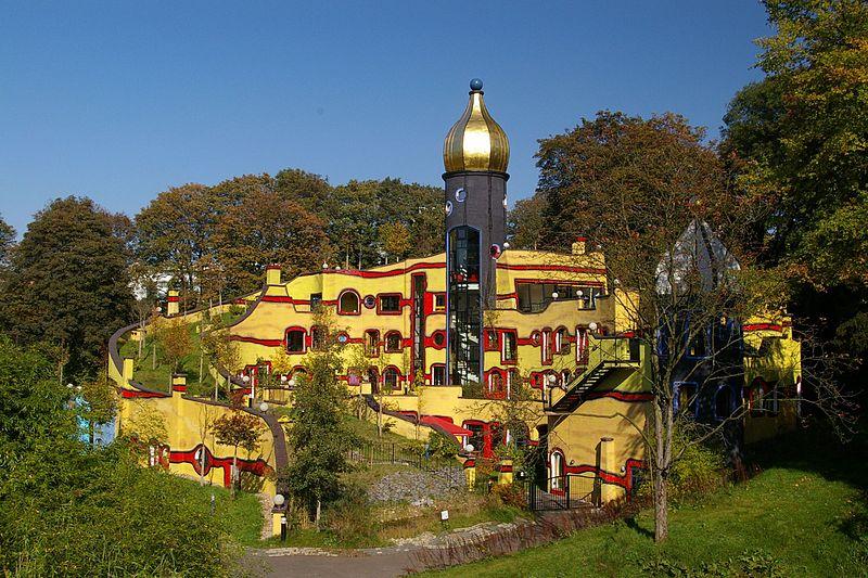 "Hundertwasser ""Ronald MacDonald House in Essen"
