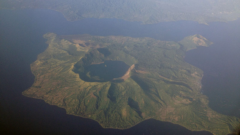 Taal Volcano in astrology