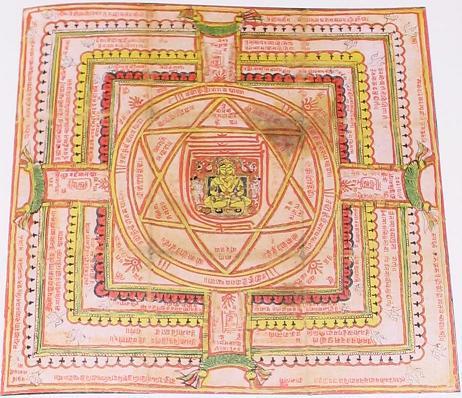 Hexagrams in jain cosmology