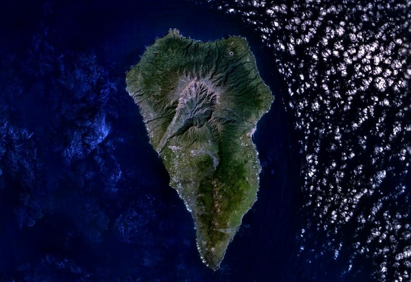 La Palma Satellitenbild
